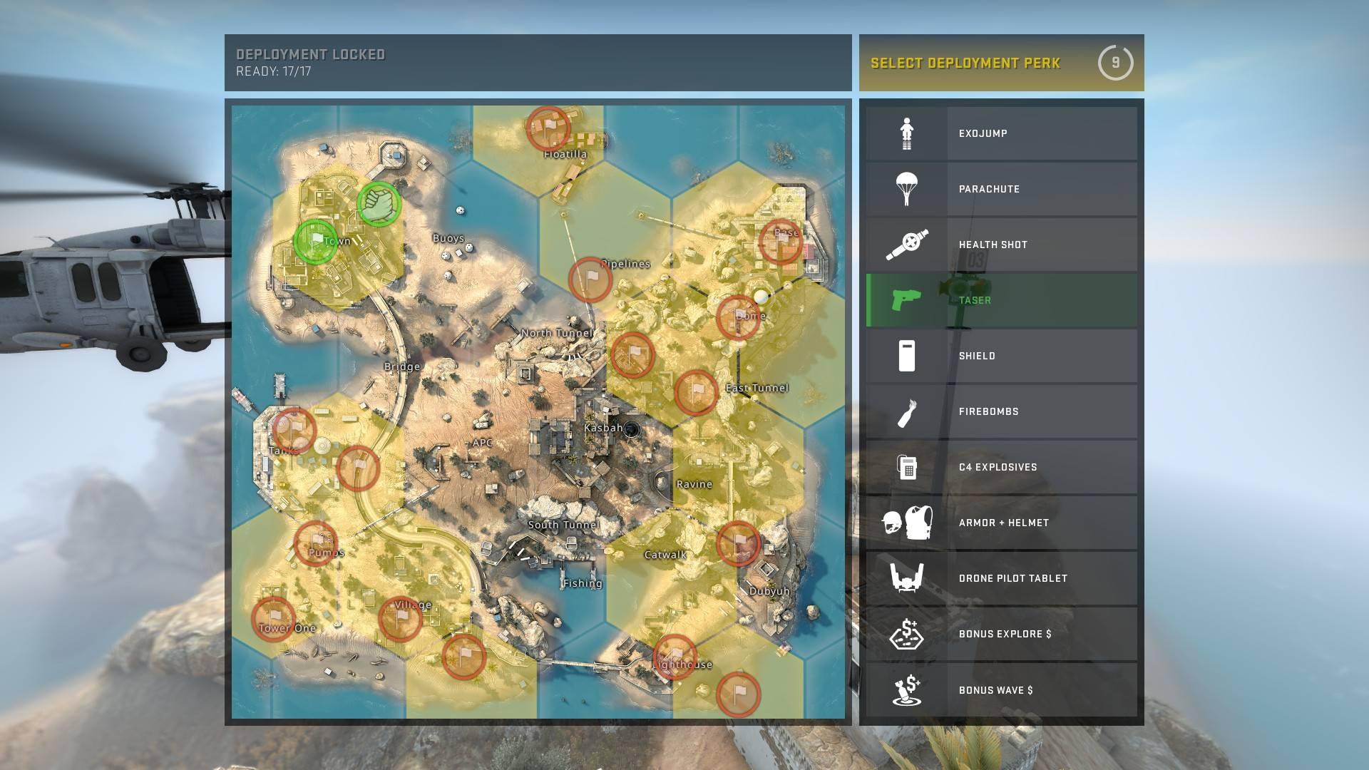 cs go danger zone best spawn
