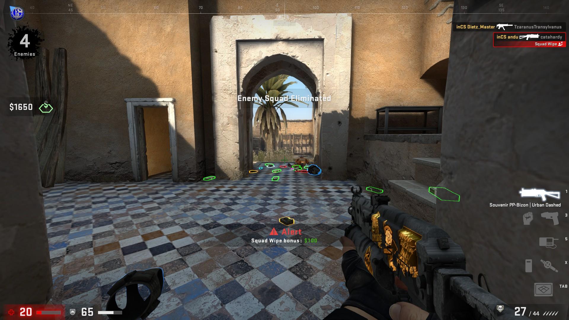 cs go danger zone squad wipe