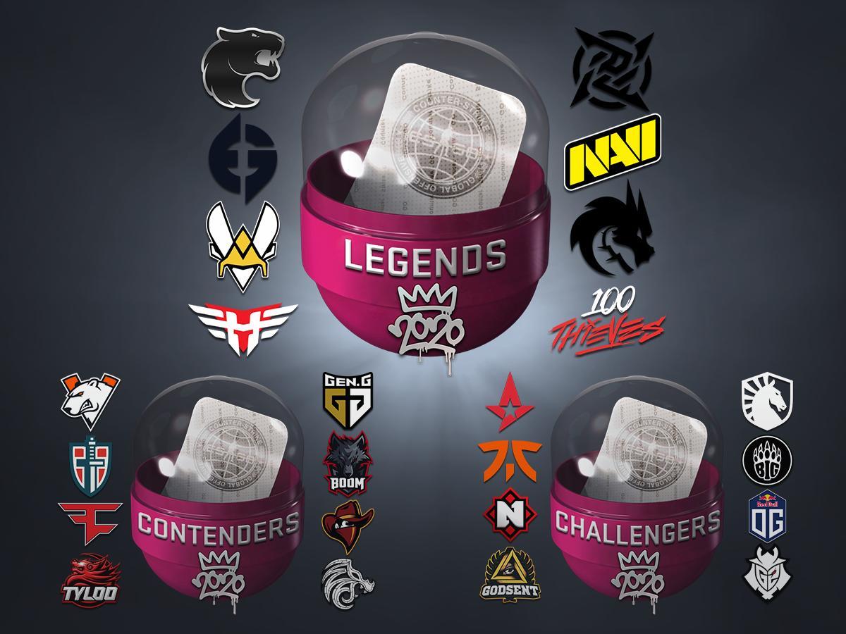 cs go teams 2020 sticker kapsel